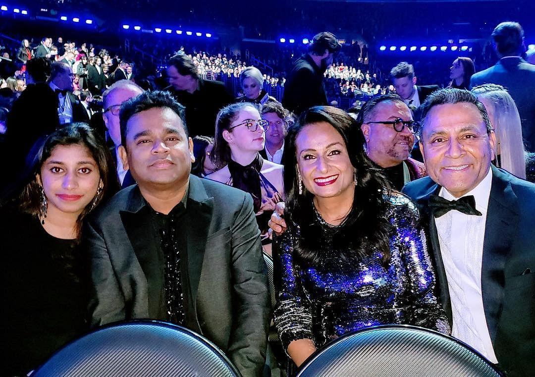 AR Rahman attends Grammy Awards 2019 with daughter Raheema; see pics