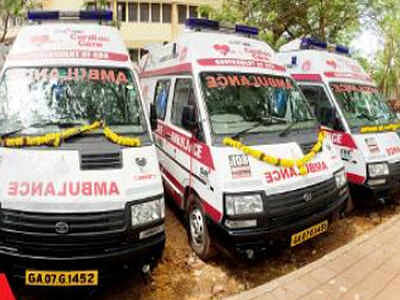 Bhopal: Chief Minister flags off 40 Ambulances