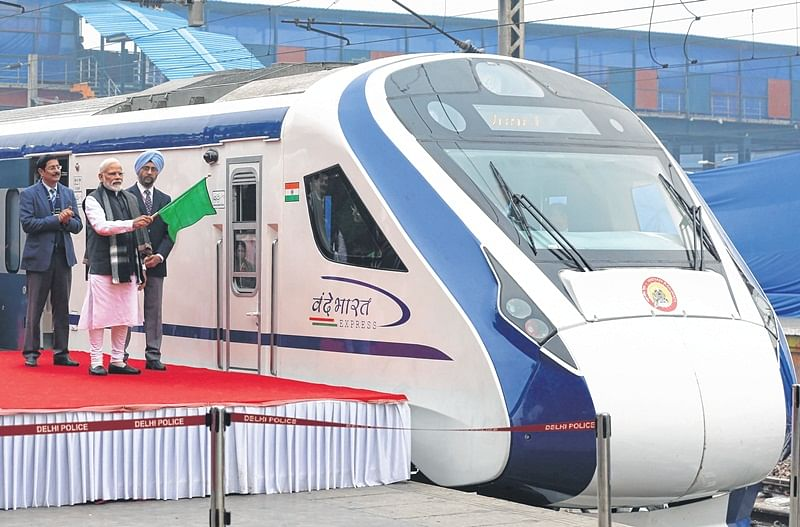 A day after being flagged off, Vande Bharat Express runs into trouble