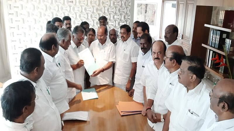 AIADMK-PMK sign electoral pact in Tamil Nadu for Lok Sabha elections; PMK gets 7 seats