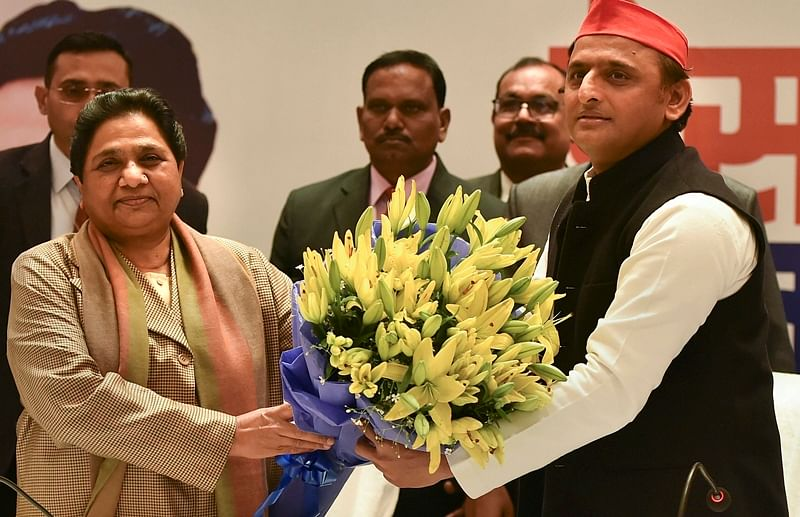 Mayawati-Akhilesh finalise seat sharing in UP; SP to contest on 37 seats, BSP to fight on 38
