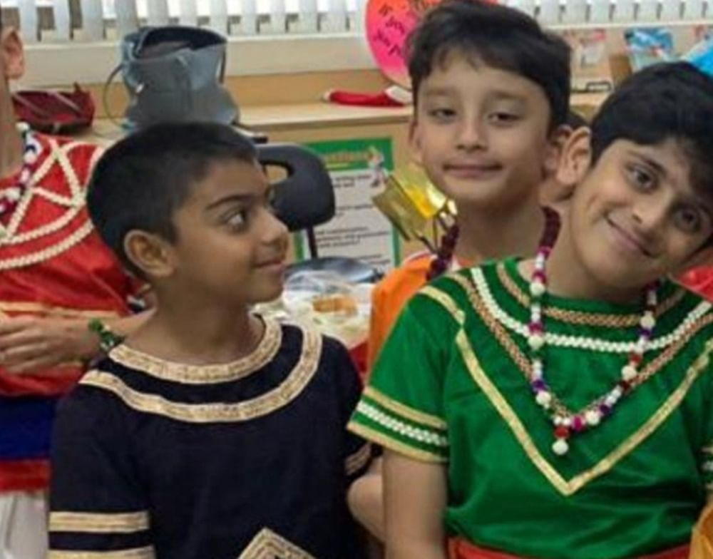 Ajay Devgn and Sanjay Dutt's sons play Ram and Raavan in school play Ramayana