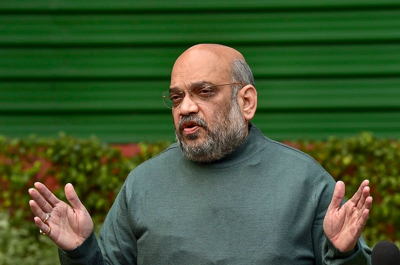 False cases against Sadhvi Pragya, Aseemanand: Amit Shah