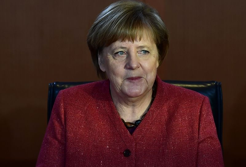 Angela Merkel says will 'fight to last hour' for orderly Brexit
