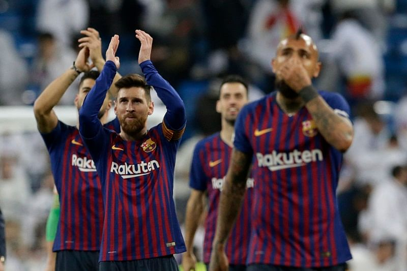 Barcalona beat Real Madrid to reach Copa del Rey final