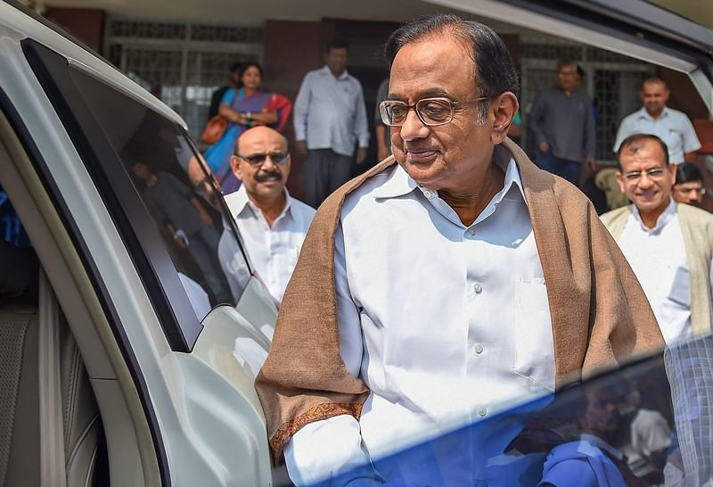 Chidambaram appears before ED for questioning in connection with INX media case