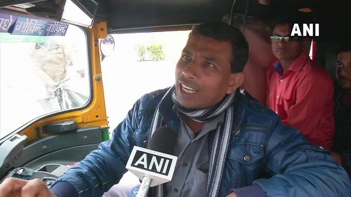 See Pic! Delhi auto driver offers free rides to celebrate Surgical Strike 2.0