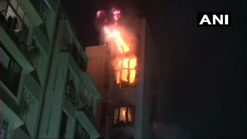 Fire breaks out at South Mumbai building, doused