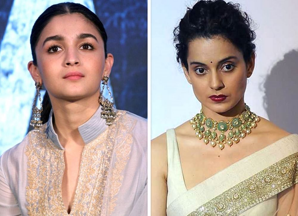 Alia Bhatt gives a classy response to Kangana's blame that she is Karan Johar's puppet
