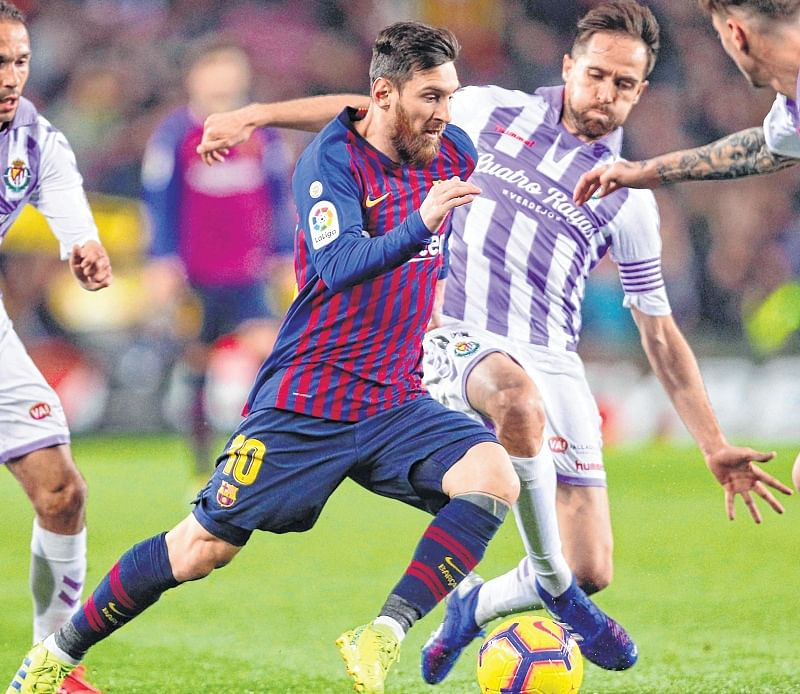La Liga: Barcalona almost pay the penalty