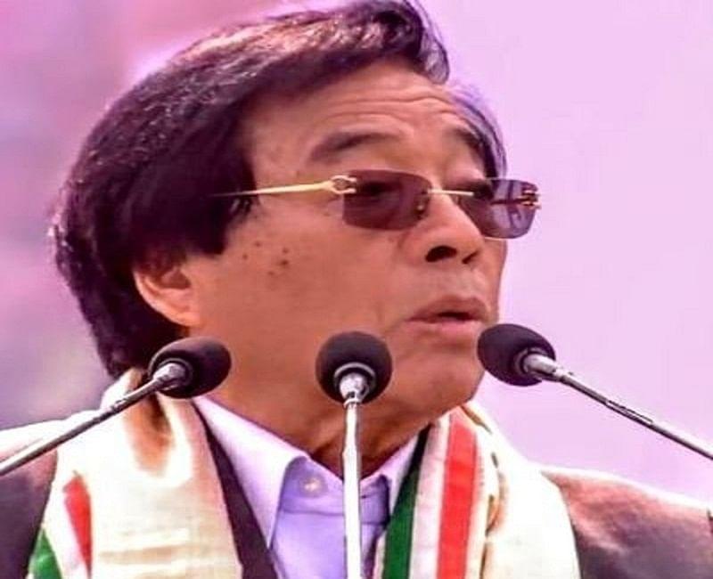 Former Arunachal CM Gegong Apang joins Janata Dal- Secular