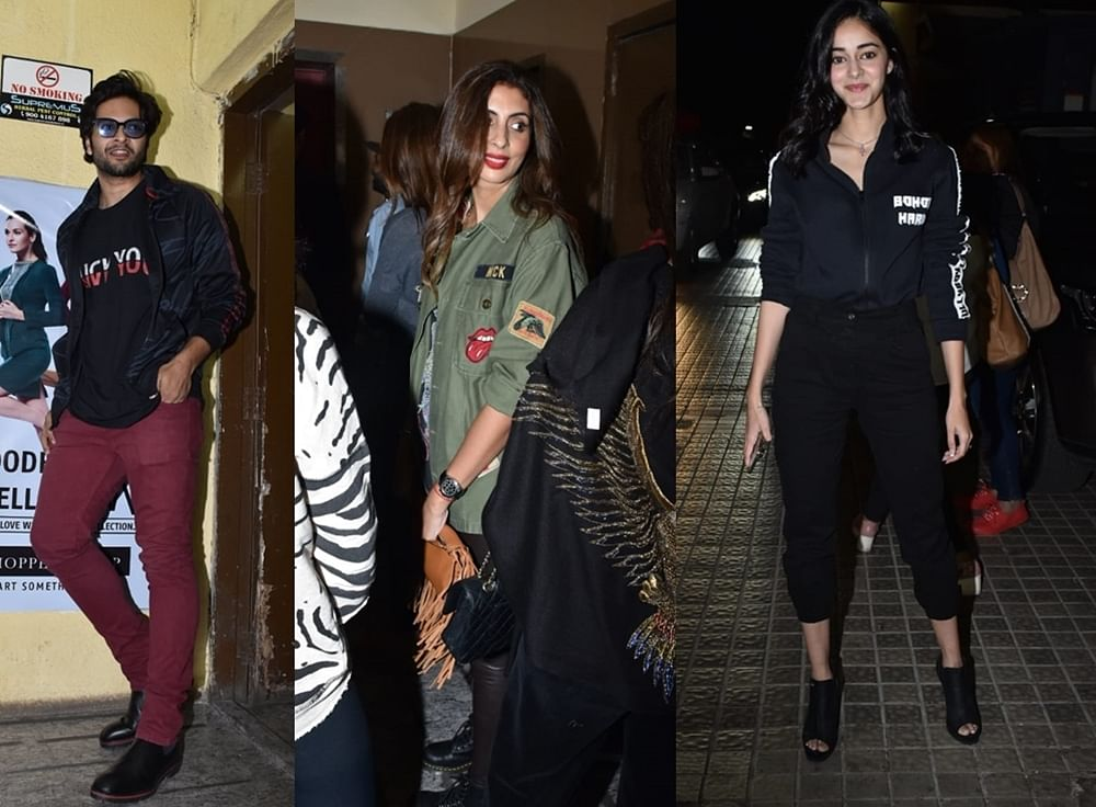 Gully Boy Special Screening: Ananya Panday, Shweta Bachchan Nanda and others attend