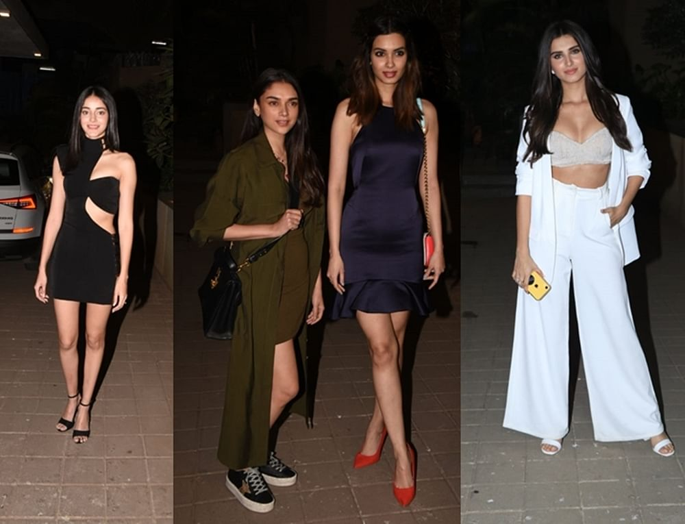 Ananya Panday, Tara Sutaria and others attend Punit Malhotra's Valentine's Day 'singles' bash