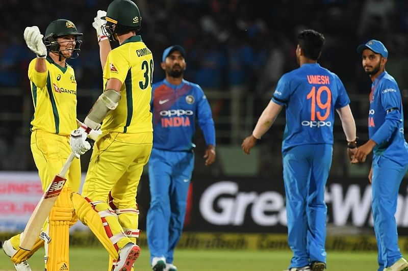 India vs Australia 1st ODI: Indian bowlers restrict Australia to modest total