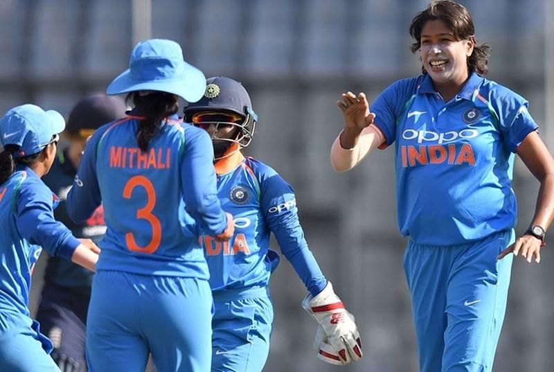 India vs England Women's 2nd ODI: Shikha Pandey, Jhulan Goswami restrict England for 161