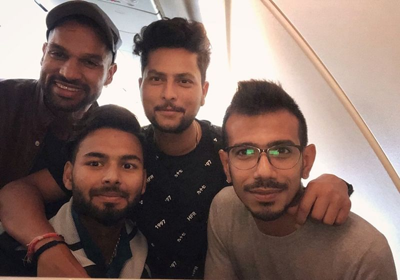 After gruelling tours of Australia and New Zealand, Team India is unwinding; check out these fun pictures