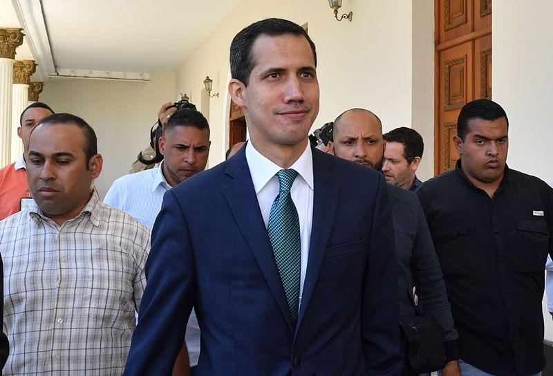 Venezuela bars Juan Guaido from office for 15 years