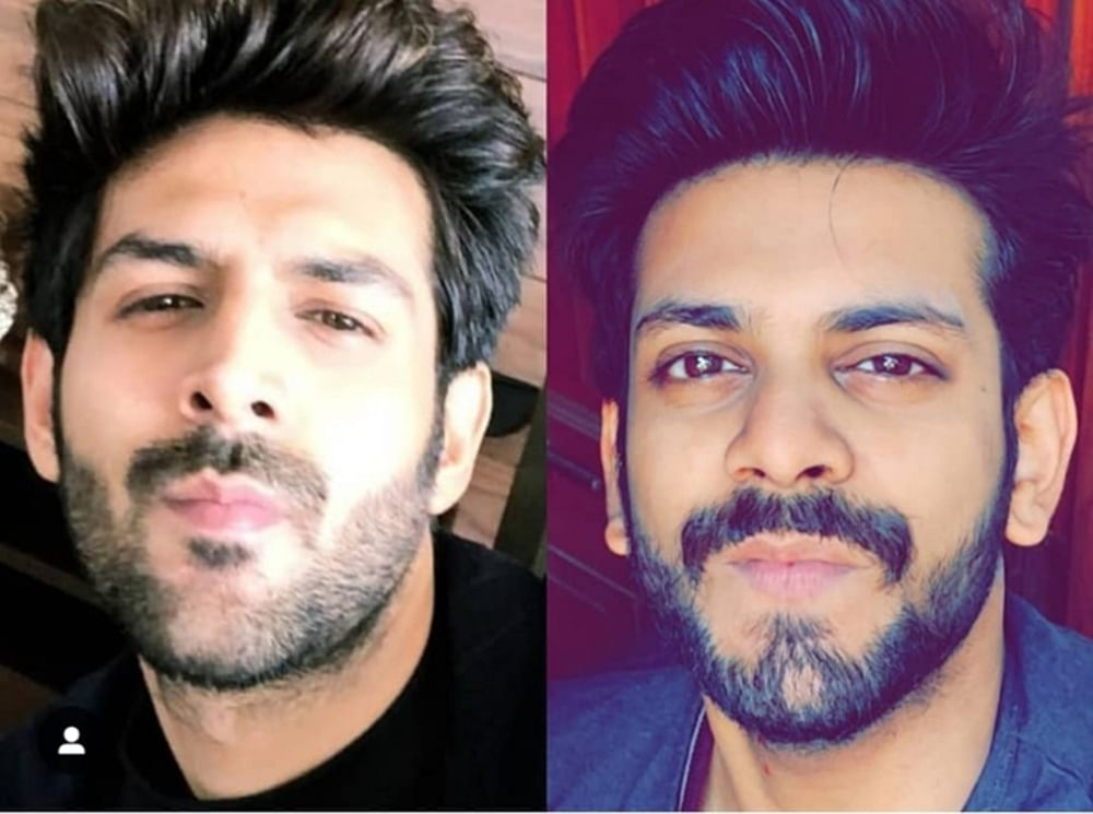 In Pics: Kartik Aaryan fans are recreating his signature style and he is loving it