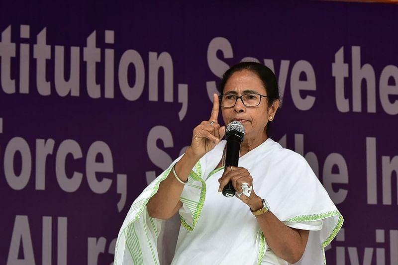Kolkata Police Commissioner Rajeev Kumar never joined dharna: Mamata Banerjee