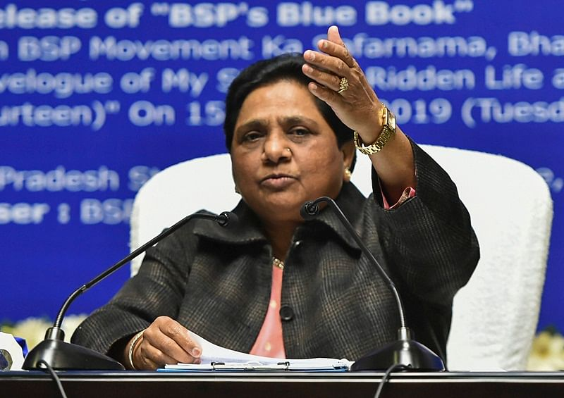 Mayawati: Dimple Yadav is my daughter-in-law