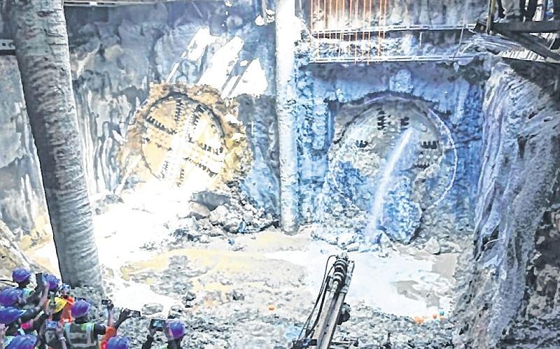 Mumbai: 6th breakthrough for Metro 3