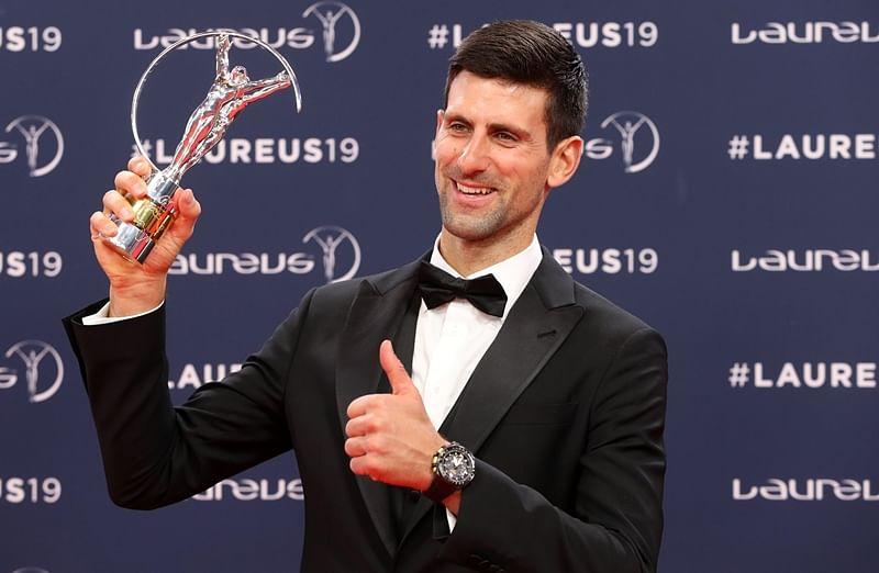 Novak Djokovic, Simone Biles bag top honours at Laureus Sports awards