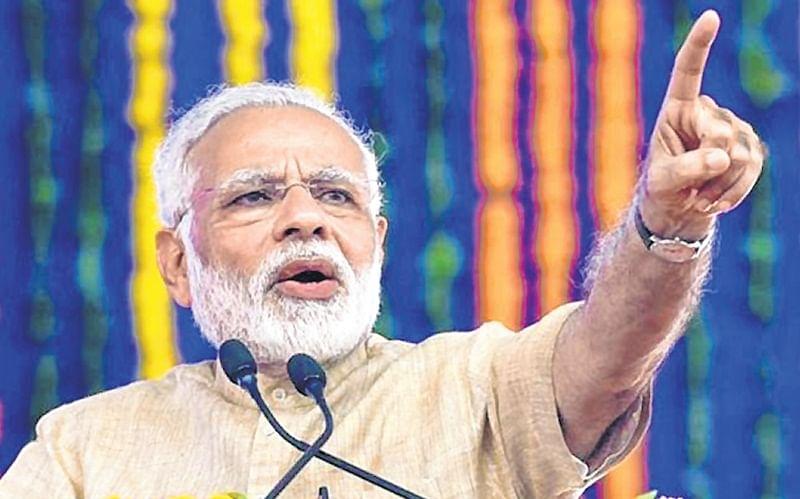 Pakistan wants 'chowkidar' to be defeated, says PM Modi