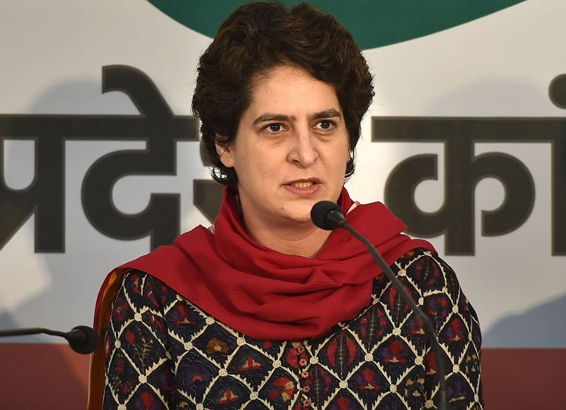 Lok Sabha elections 2019: BJP leaders busy in T-shirt marketing, while people suffer, says Priyanka Gandhi Vadra