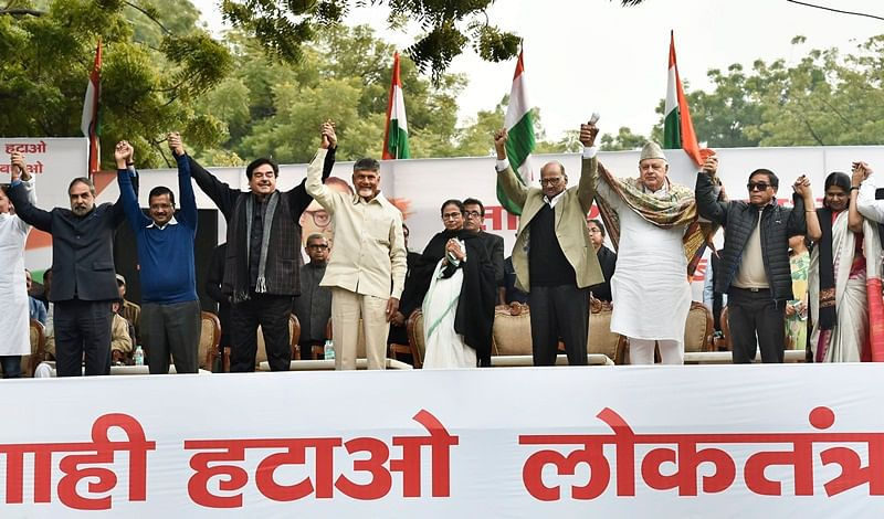 Opposition leaders vow to join hands to defeat BJP; to frame common minimum programme