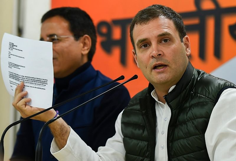 CAG report on Rafale not worth paper its written on, says Rahul Gandhi