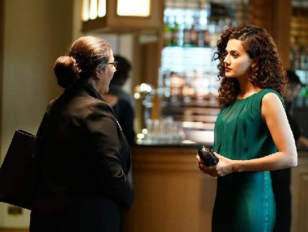 Badla: Taapsee Pannu shares a still from her upcoming movie