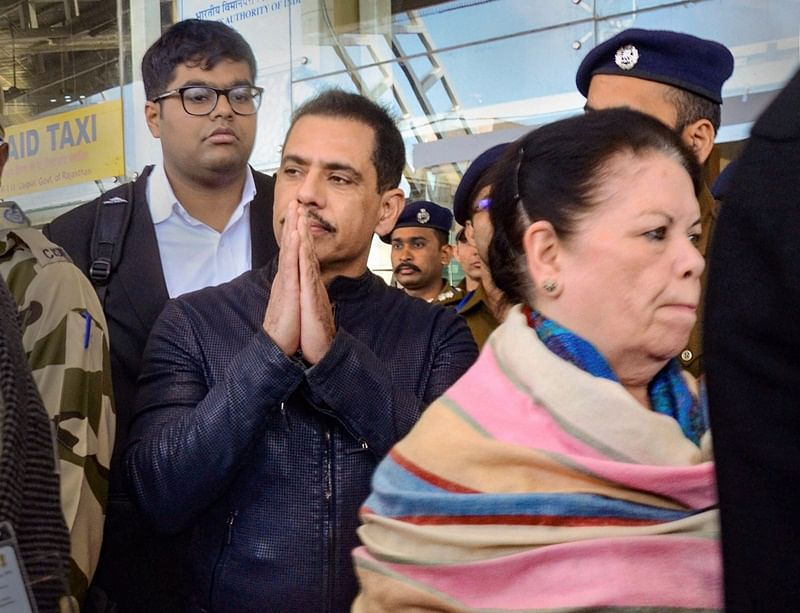 Bikaner land deals: Robert Vadra, mother questioned for 8 hours, told to appear again today