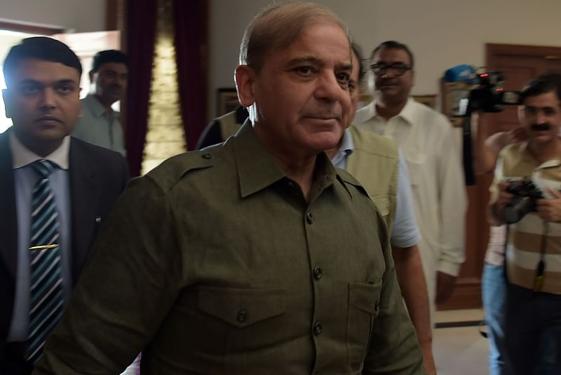 Refrain from going to war, Shehbaz Sharif urges Indian leader after IAF Air Strike