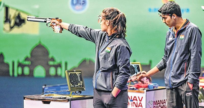 ISSF World Cup: Saurabh Chaudhary, Manu Bhaker shoot gold