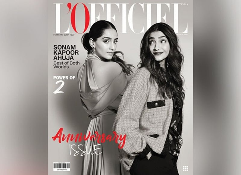 Sonam Kapoor Ahuja has the best of both worlds, her monochrome L'Officiel cover is worth a dekko!