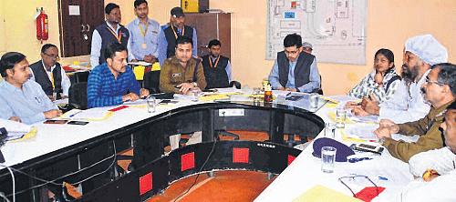 Ujjain: Renovation work in Mahakal temple premises reviewed