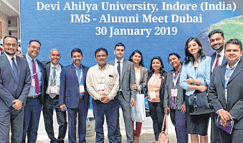 Indore: Devi Ahilya Vishwavidyalaya Goes Global with Institute of Management Studies Chapter in UAE