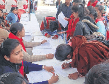 Ujjain: 71 students get placed in career fair