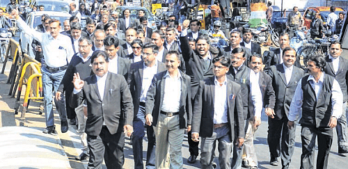 Bhopal: 90,000 lawyers observe strike in support of BCI's call