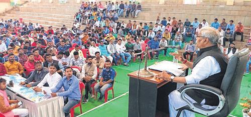 Ujjain: Bhartiya Janata Yuva Morcha organises Yuva Sansad