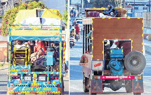 Bhopal: Jazzy jugaad vehicles catching people's fancy