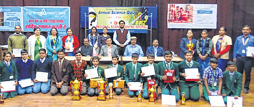 Bhopal: Delhi Public School, Sharda Vidya Mandir clinch titles