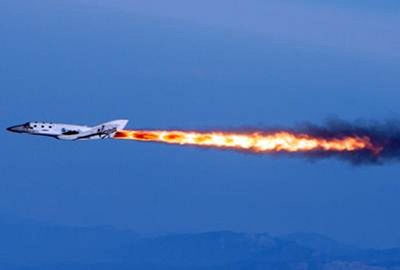 Virgin Galactic sends three humans to space