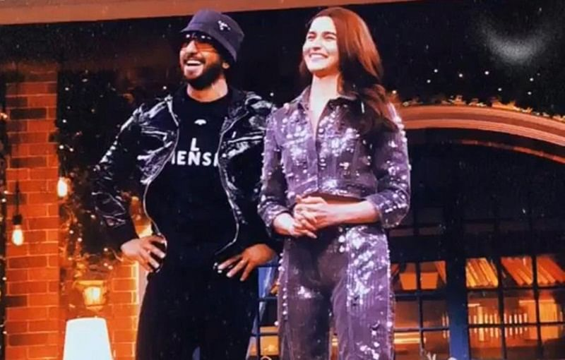 Watch: Alia Bhatt busts out smooth moves as Ranveer Singh raps 'Mere Gully Mein' on The Kapil Sharma Show