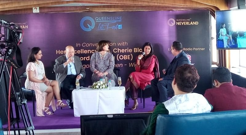 The sea is lit! Glimpse of the first ever literature festival held on sea