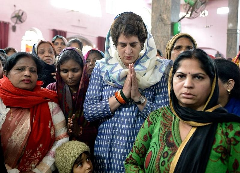 Priyanka Gandhi-Vadra wages lone fight in UP