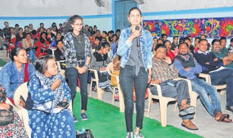 Ujjain: Hand writing workshop held