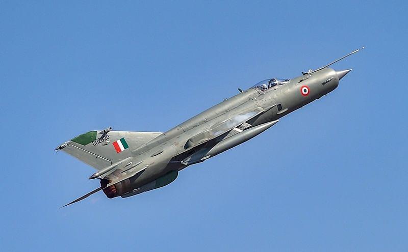 MiG-21 fighter jet crashes near Rajasthan's Bikaner, pilot ejects safely