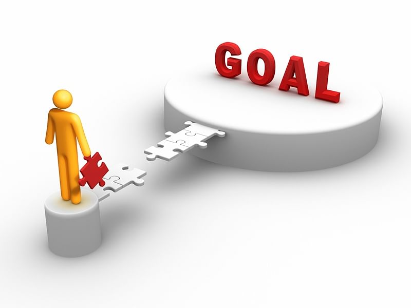 Is your goal ladder leaning against the correct wall?
