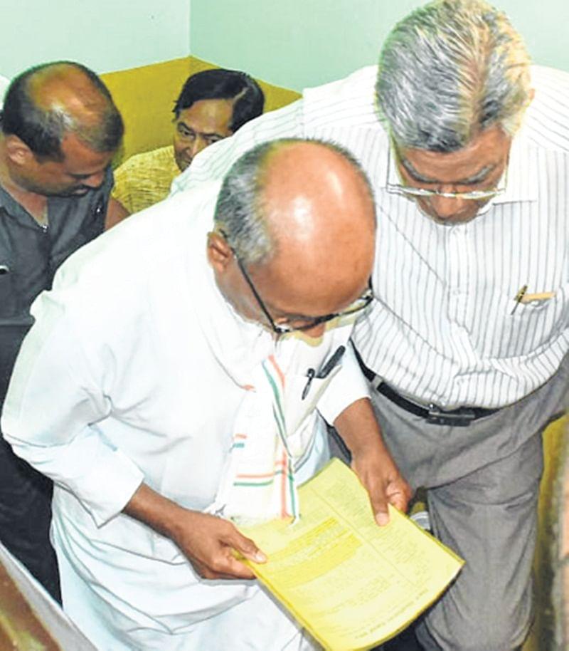 Ujjain: VU pensioners demand pension  on par with govt employees